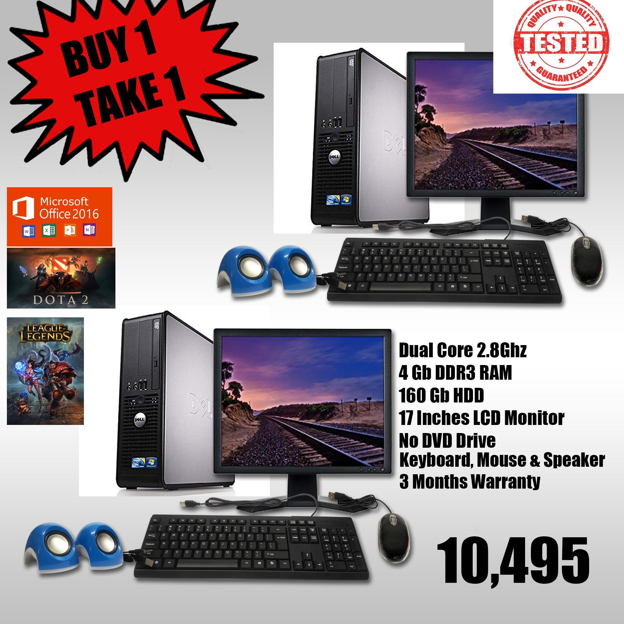 Dell 780 2 8Ghz Computer Set BUY 1 Take 1 (Seller Refurbished)