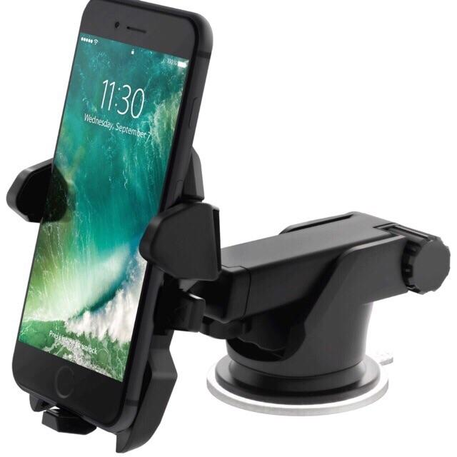 Car Mount Easy Stick Long Neck One Touch Cellphone Holder (Phone not  included)