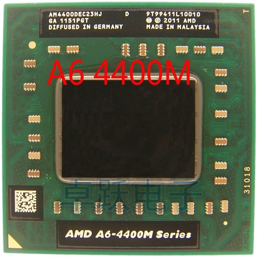 Original AMD Dual Core A6 4400M 2 7Ghz A6 Store YFD PROCESSOR Series CPU 4400M A6 AM4400DEC23HJ