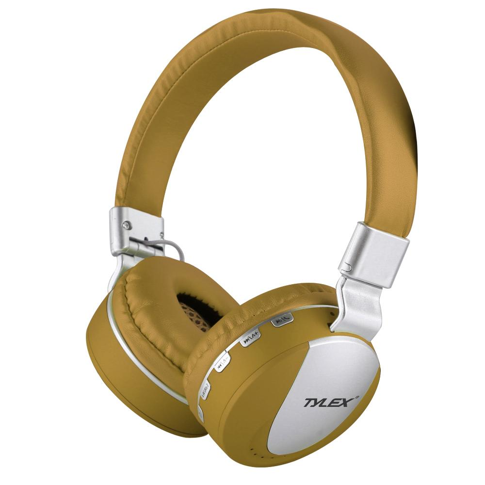 TYLEX MS-K9 Wireless 4.2 Stereo Portable Bluetooth Hi-Fi On-Ear Headphones