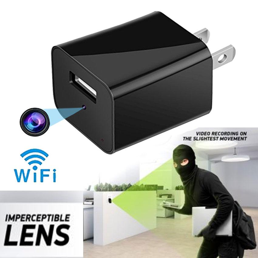 079dea5cf64f AHD Spy Hidden USB Adapter HD Wifi Camera (Black)