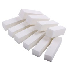 10Pcs Nail Art Care Buffer Buffing Sanding Block Files Grit Acrylic Tool - White Philippines