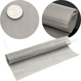 11.8'' Stainless Steel 100 Mesh Wire Cloth Screen Water Filtration Filter Sheet - intl image