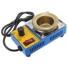 150W 50mm 220V Soldering Desoldering Stainless Steel Plate Solder Pot 200-480°C