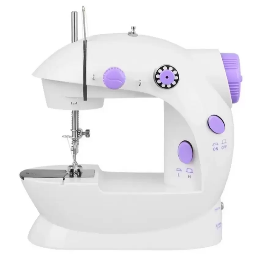 2-Speed Mini Electric Sewing Machine Kit (White/Lavender) product preview, discount at cheapest price