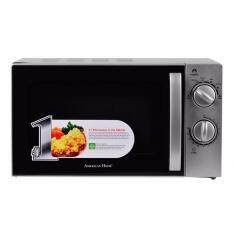 American Home Manual Rotary Microwave Oven Amw 20mcs Gray