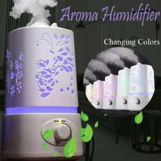 Nary Original 1.5l Ultrasonic Air Humidifier With Interchanging Led Light By D&d.