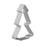 ELENXS Christmas Tree Shaped Buscuit Tools (Silver) - thumbnail 1