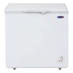 Ft Solid Top Chest Freezers White