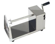 Fuskm Stainless Steel Potato Spiral Slicer Cutter Machine,sliver - Intl By Fusifamen.