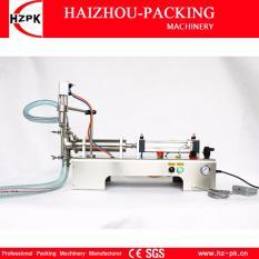 HZPK Semi-automatic Liquid Filler Stainless Steel Horizontal Single Head  Liquid Filling Machine Small Packer Water Filler For Shampoo,Cosmetic,Juice
