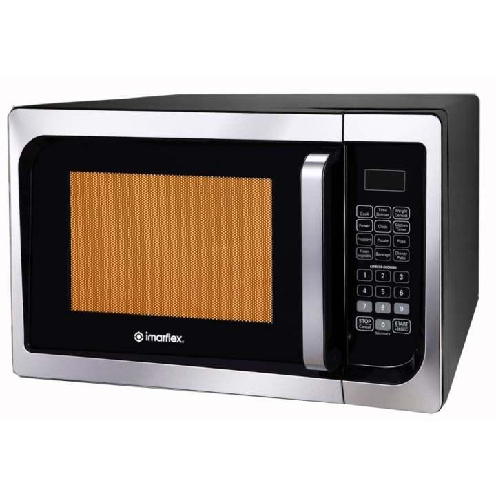 Imarflex Microwave Oven: Imarflex MO-G23D Digital Microwave Oven 23L (Black
