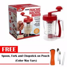 Manual Pancake Machine Free Spoon,fork And Chopstick With Case (color May Vary) By Chainworld.