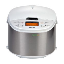Philips HD3077 Digital Rice Cooker 5-Layer inner pot 10 cups (Grey)