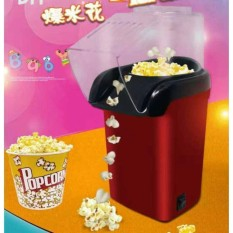Pop Corn Maker Machine(red) By Krys & Eliz.
