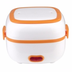 Portable Electric Lunch Box Cooker (orange) By Latest Gadget.