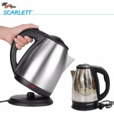 Scarlett Stainless Steel  Electric Heat Kettle 2.0 Liters image on snachetto.com