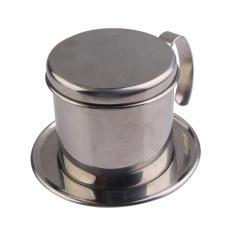 Stainless Steel Metal Vietnamese Coffee Drip Cup Filter Maker Strainer (silver) By Crystalawaking.