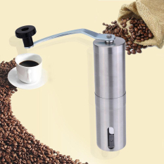Steel Stainless Manual Coffee Bean Grinder Mill Hand Crank Grinding Kitchen Tool - Intl
