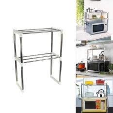 Weizhe Multifunctional Microwave Oven Rack Kitchen Shelves, Silver - Intl By Weizhifushiyouxiangonsi.