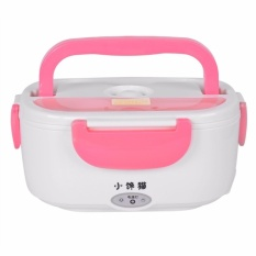 Zover Fm-218 Portable Electric Heated Food Warmer Box Container Lunch Hot Meal Lunchbox Pink By Zoverstocks.
