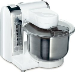 Bosch MUM48CR1 600W Food Processor (White/Chrome)