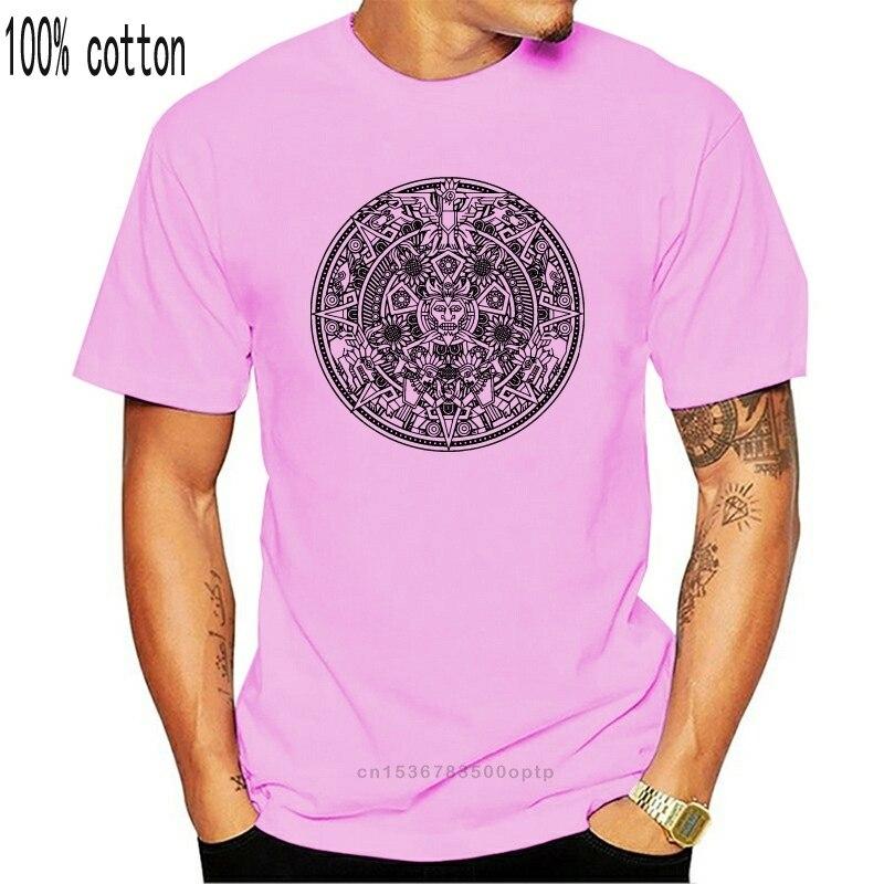 Aztec Mandala Dog Pattern Adult T Shirt