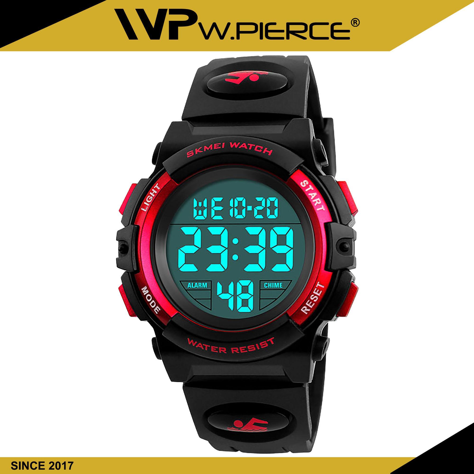 e1df9b7496 WPierce 1266 Children's Watches SKMEI Brand Swim Waterproof Outdoor Sports  Children Watch For Boy Girls Fashion