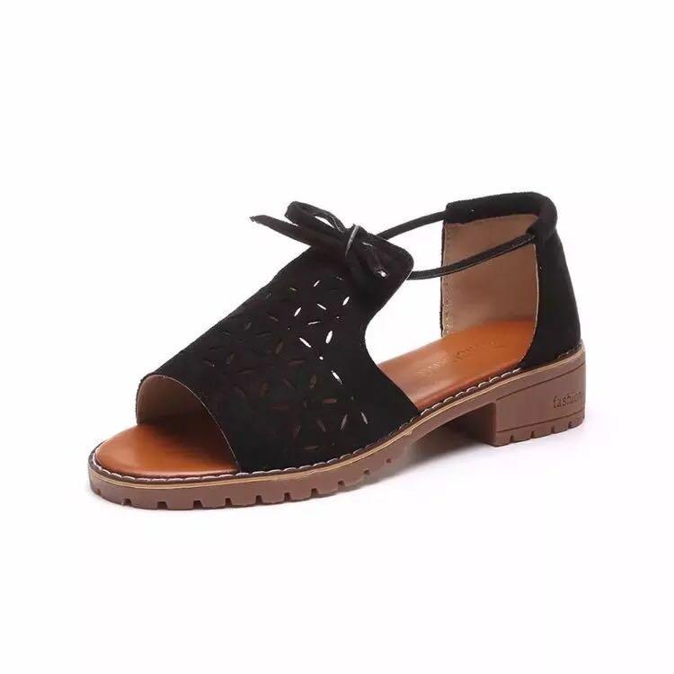 Bestseller korean flats sandals wedge for women #S189