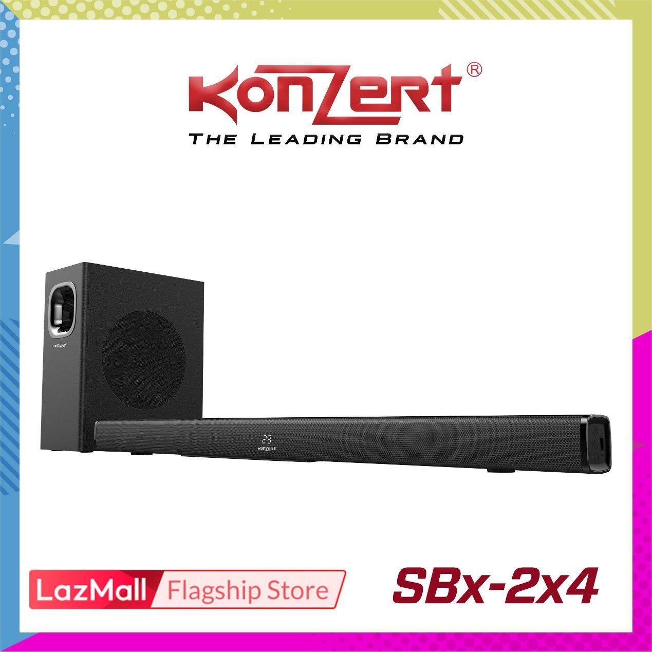 Konzert SBX-2x4 Bluetooth Soundbar Speaker