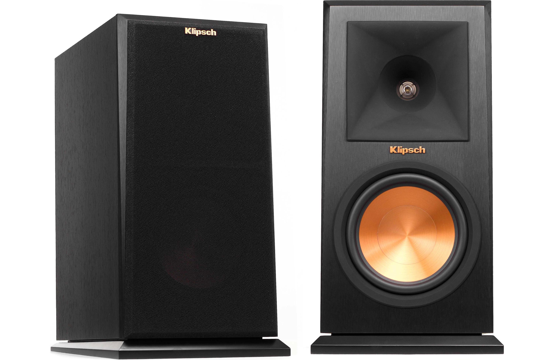 Klipsch RP-160M Bookshelf Speaker Pair (Black)