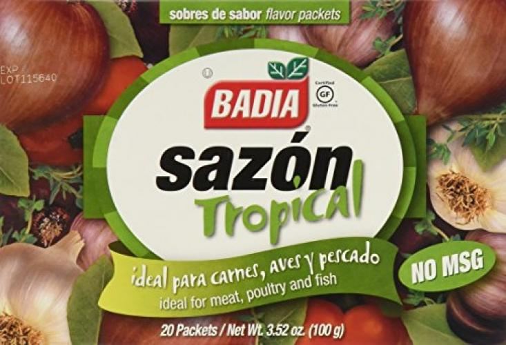 Badia Sazon Tropical No Mgs, 3.52 Oz By Galleon.ph.