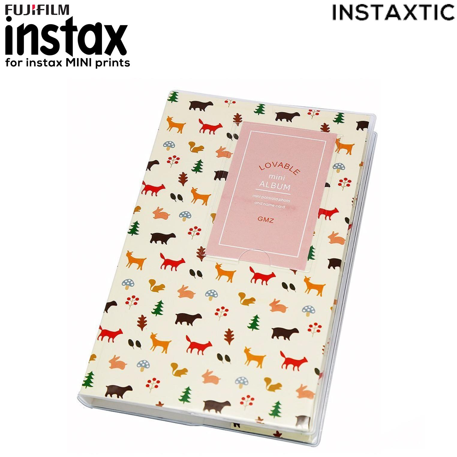 Instaxtic Fujifilm Instax Mini Notebook Style Album (84 slots) for Mini 7/7s/8/8+/9/25/26/50s/70/90/Sp-1/Sp-2
