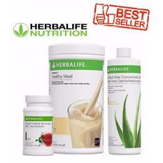 Herbalife Meal Replacement Pack (French Vanilla, Aloe Mango, Tea 50g) BEST  SELLER