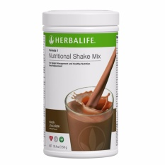 Herbalife Formula 1 Nutritional Shake Dutch Choco Canister 550g By 24 Hour Nutrition.