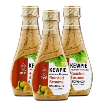 Kewpie Roasted Sesame Dressing 3 pack 210ml per pack