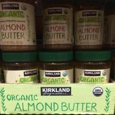 Kirkland Organic Creamy Almond Butter765g