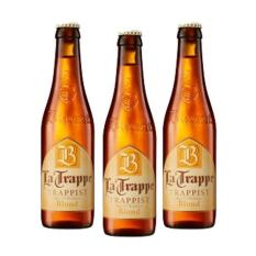 La Trappe Trappist Blond Beer 3 Pack (330ml Per Bottle) By Giga Mart.