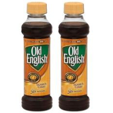 Old English Scratch Cover For Light Woods 2 Pack (236ml Per Bottle) By Mega Mart.