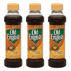 Old English Scratch Cover For Light Woods 3 Pack (236ml Per Bottle) By Mega Mart.