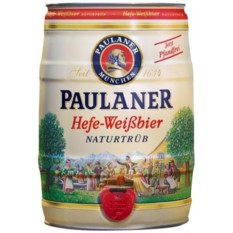 Paulaner Hefe-Weizen Keg 5l By Mega Mart.