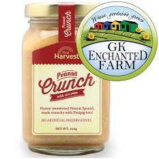Peanut Crunch 250g From First Harvest Crunchy Peanut Butter Local Ingredients Gawad Kalinga Enchanted Farm By Firstharvest.