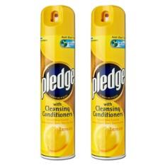Pledge Lemon Furniture Polish 2 Pack (300ml Per Pack) By Mega Mart