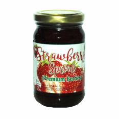 Premium Strawberry Spread 8oz By Madeinbaguio.