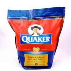 Quaker Whole Grain Rolled Oats 1.2kg Old Fashioned Cooks In 5mins By Mega Eight.