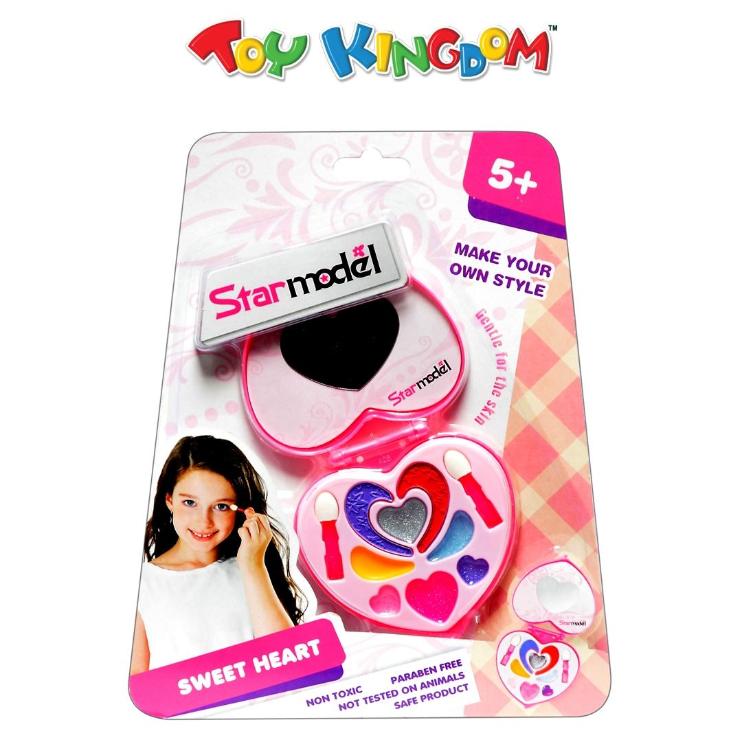 Star Model Sweet Heart Toy Makeup Kit for Girls