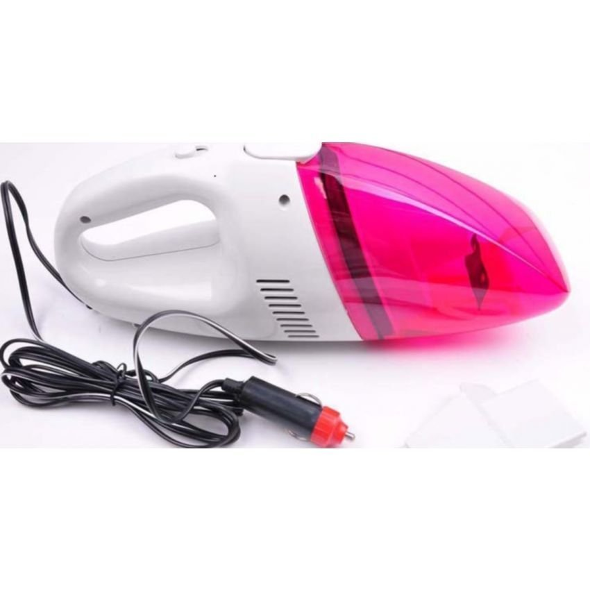 Portable Car Vacuum Cleaner  (Pink)
