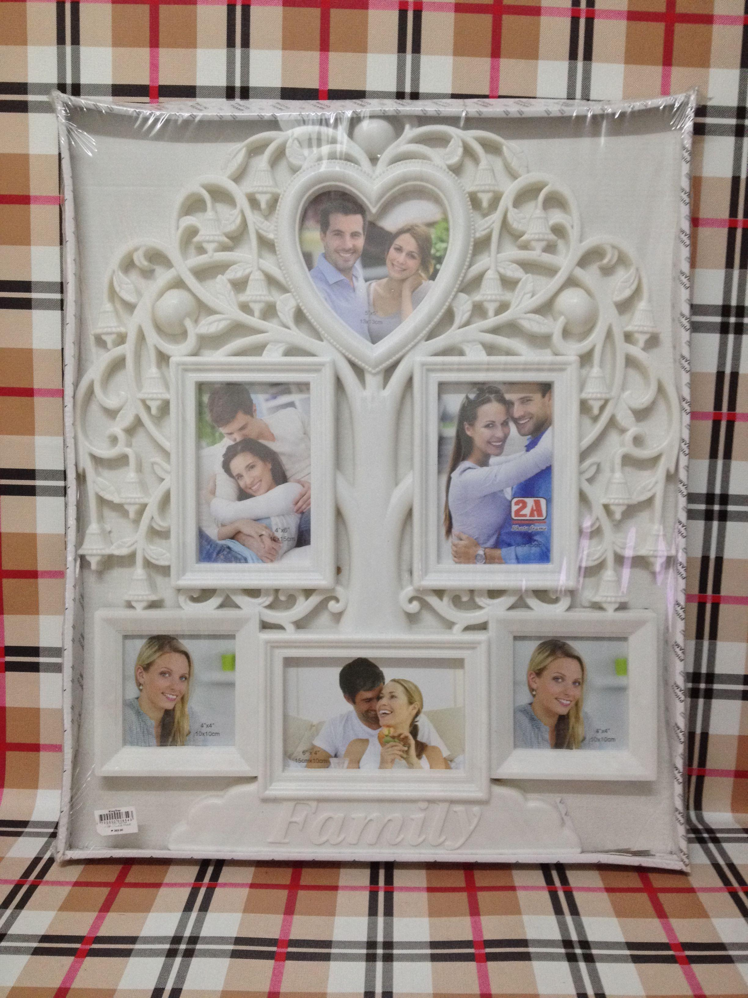 120392bfc Collage Photo Frame Plastic Collage Hanging Photo Frame Love Family Picture  Display Wall Home Decor