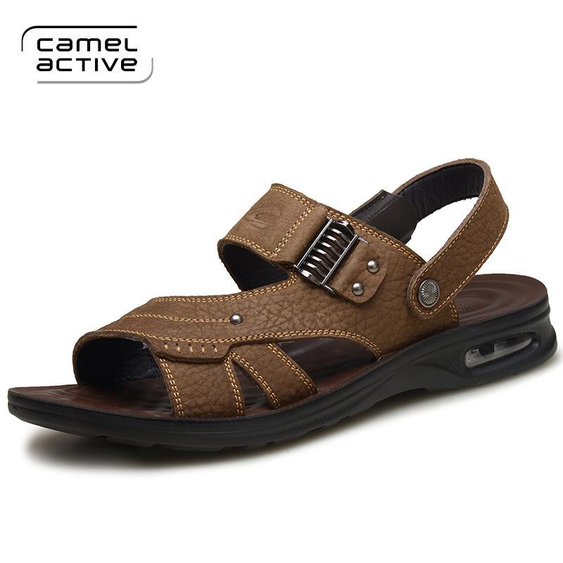 Sandal Sandals Summer Men's Leather Style New Brwqdcexo Camel Active QCrBtshdx