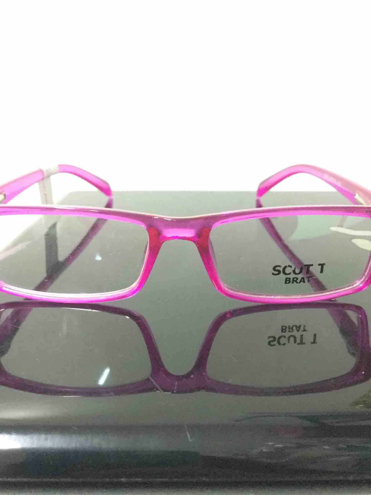 Scott Brat Fuschia Pink Eyeglass Frame For Kids By Mearsbeauty.
